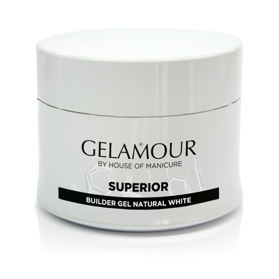 Gelamour Superior Builder gel Natural White 14 gram