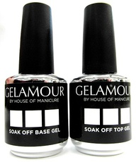 Gelamour Soak off Base- en Topgel
