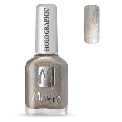 Moyra Holographic (Stempel) nagellak 252 Infinity goud