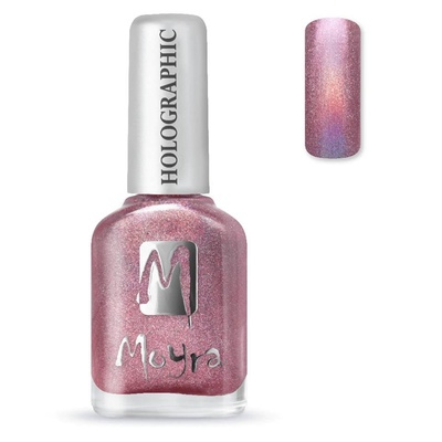 Moyra Holographic (Stempel) nagellak 256 Orion roze
