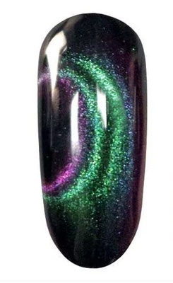 Korneliya Cat eye gel 6D green/violet
