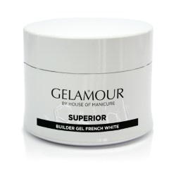 Gelamour Superior Builder gel French White 45 gram