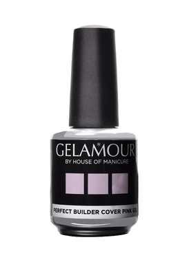 Gelamour Soak off Perfect Builder Cover Pink gel