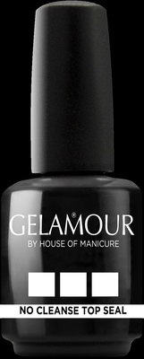 Gelamour No cleanse topseal 15 ml