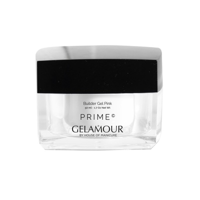 Gelamour Prime Builder gel Pink 50 ml